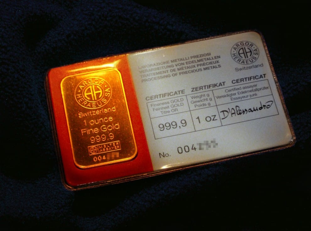 Единица измерения золота