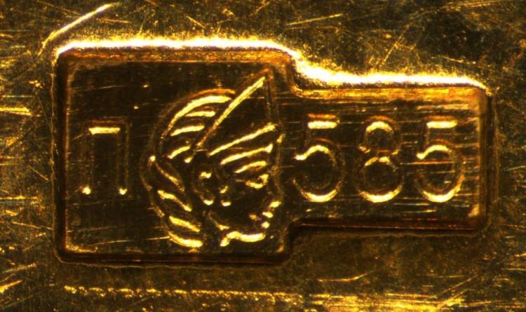 585 проба золота – одна из самых популярных